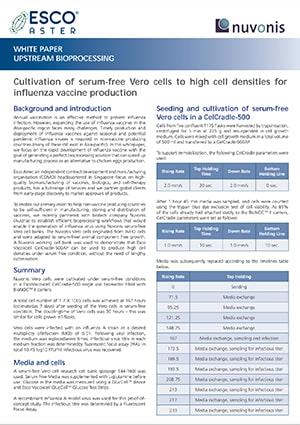 Influenza Vaccine Production - EN