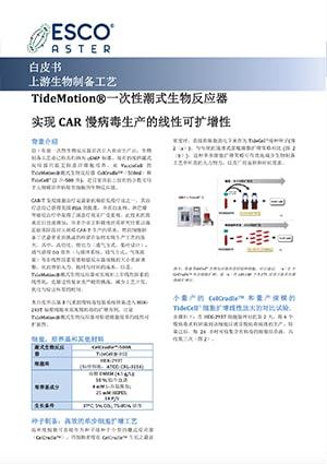 Linear Scalability of CAR Lentivirus Production - CN