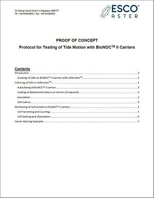Testing BioNOC™ II Carriers
